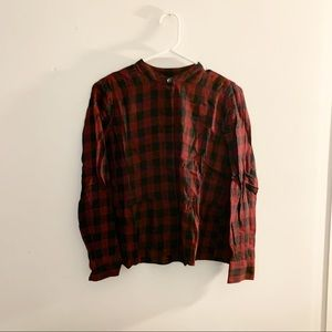 Madewell Checked Button Down